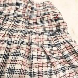 Hollister Skirts - HOLLISTER Plaid Pleated Flared Mini Skirt